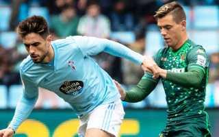 Celta Vigo vs Real Betis