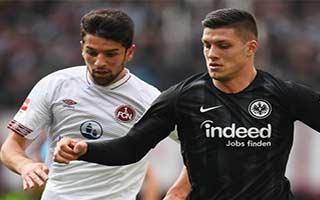 Eintracht Frankfurt vs Nurnberg