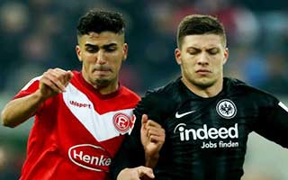 Fortuna Dusseldorf vs Eintracht Frankfurt