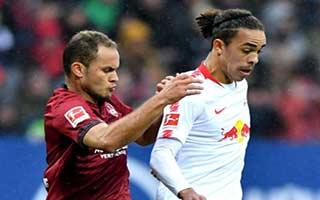 Nurnberg vs RasenBallsport Leipzig