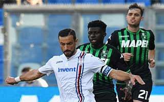 Sassuolo vs Sampdoria