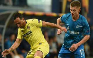 Zenit vs Villarreal