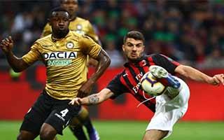 AC Milan vs Udinese