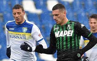 Sassuolo vs Frosinone