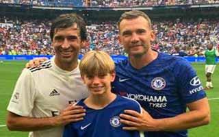 Real Madrid Legends vs Chelsea Legends