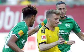 St. Gallen vs Borussia Dortmund
