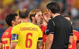 Romania vs Spain