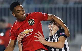 Partizan Beograd vs Manchester United