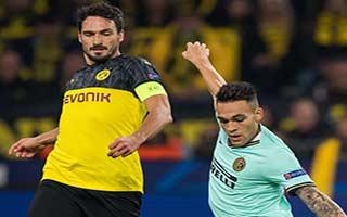 Borussia Dortmund vs Inter