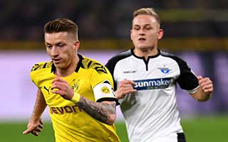 Borussia Dortmund vs Paderborn