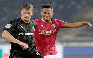 Hannover vs Sandhausen