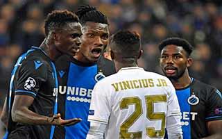 Club Brugge vs Real Madrid