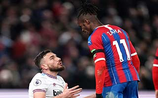Crystal Palace vs West Ham United
