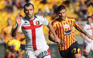 Lecce vs Genoa