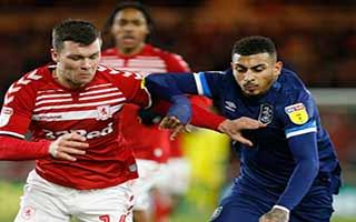 Middlesbrough vs Huddersfield Town