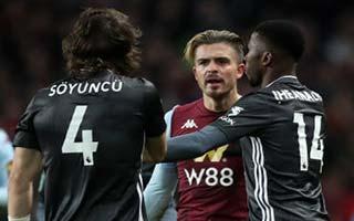 Aston Villa vs Leicester City