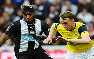 Newcastle United vs Oxford United