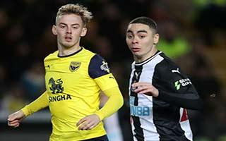 Oxford United vs Newcastle United