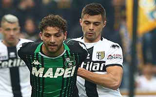 Sassuolo vs Parma
