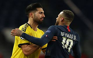 Paris Saint-Germain vs Borussia Dortmund