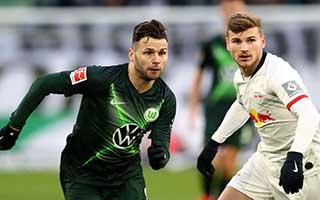 Wolfsburg vs RasenBallsport Leipzig