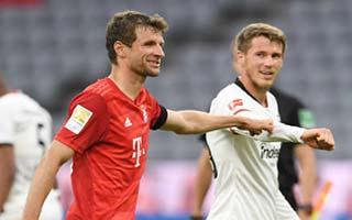 Bayern Munich vs Eintracht Frankfurt