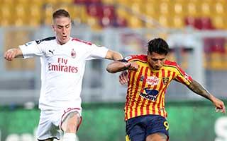 Lecce vs AC Milan